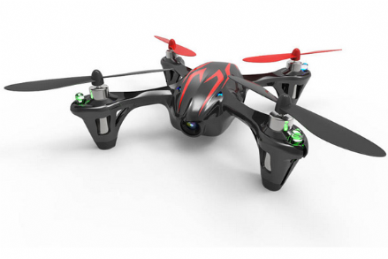 H107c Hubsan X4 LED Mini Quad Copter RTF with Camera Recording & 2.4Ghz Radio System